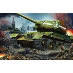 Trumpeter Models 902 1:16 Russian T34/85 Mod 1944 Factory Nr.183 Late