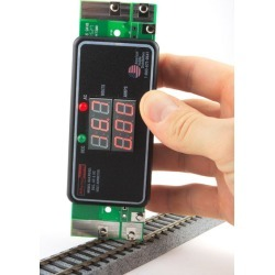 DCC Specialties RAMPMETER3 Digital Meter for DCC, DC & AC Volts & Amps