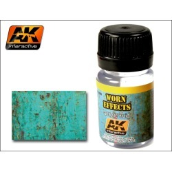 AK Interactive 88 Worn Effects Acrylic Paint 35ml Bottle