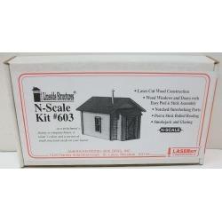 American Model Builders 603 N Scale Miner's Cabin Kit