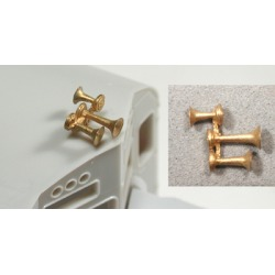 Cal Scale 190-583 HO Air Horn (Unpainted Brass Casting) Nathan 3-Chime found on Bargain Bro India from Trainz for $3.49