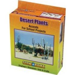 Woodland Scenics SP4124 Basic Desert Plants Add-on Kit