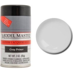 Testors 28137 Gray Primer 3 oz Lacquer Spray Paint
