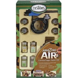 Testors 4034 Air Camo Paint Kit