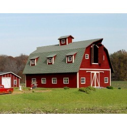 American Model Builders 119 HO Country Barn found on Bargain Bro Philippines from Trainz for $80.99