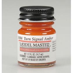 Testors 28004 Turn Signal Amber Paint - 1/2 oz. Bottle