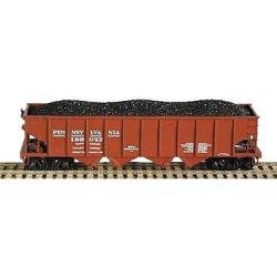 Bowser 41203 HO Pennsylvania Railroad H21 4-Bay Hopper with Clamshell