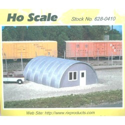 Rix Products 628-0410 HO Quonset Hut Kit found on Bargain Bro India from Trainz for $13.79