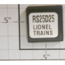 Lionel RS25D25 Sound Chip