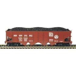 Bowser 41217 HO Pennsylvania Railroad H21 4-Bay Hopper with Clamshell