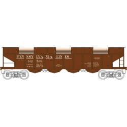 Bowser 41200 HO Erie H21 4-Bay Hopper with Clamshell Doors Executive L