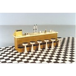 Berkshire Valley 456 O Counter w/Stools & Accessories Set found on Bargain Bro Philippines from Trainz for $15.95