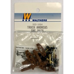 Walthers 933-1004 Truck Andrews One Pair