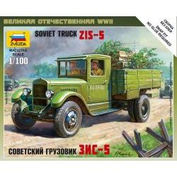 Zvezda 6124 1:100 Soviet ZIS-5 Truck