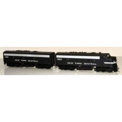Bowser 24069 HO New York Central EMD F7A/B Set (Cigar Band) #1852/3461