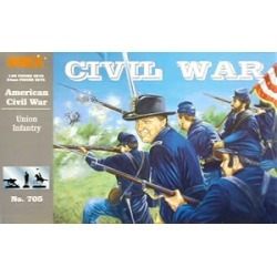 Imex 705 1:32 Union Infantry Civil War Set