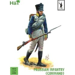 Hat Industries 28015 28mm Napoleonic Prussian Infantry Command (32) (D