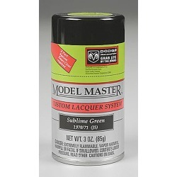Testors 28117 Subline Green 3 oz Lacquer Spray Paint (Dodge)