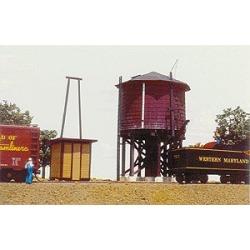 American Model Builders 158 HO Pump House (For Water Tanks, Sold Separ