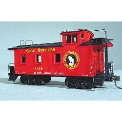 American Model Builders 861 HO Great Northern 25' Car Wood Caboose Kit