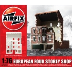 Airfix Products 75007 1:76 European Ruined 4-Story Shop Ready-Built Re found on Bargain Bro Philippines from Trainz for $32.49
