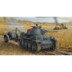 Dragon 6435 1:35 PzKpfw 38(t) Ausf S Tank w/Fuel Drum Trailer found on Bargain Bro India from Trainz for $38.49