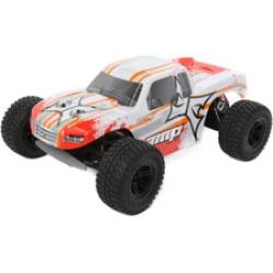 ECX 03028T1 1/10 AMP MT 2wd Monster Truck: White/Orange Ready-to-Run