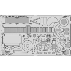Eduard 48768 1:48 MiG-21F-13 Accessories for Trumpeter Aircraft