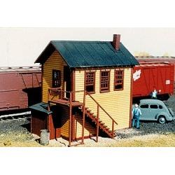 American Model Builders 709 HO Railroad Yard Office Laser Kit