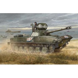 Trumpeter Models 381 1:35 Russian PT-76B AMP Tank