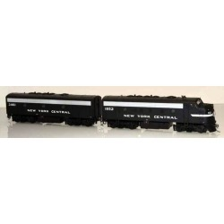 Bowser 24068 HO New York Central EMD F7A/B Set (Cigar Band) #1842/3470