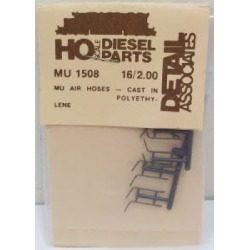 Detail Associates 1508 HO MU Airhoses (16) found on Bargain Bro India from Trainz for $4.09