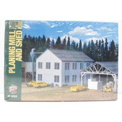 Walthers 933-3059 HO Scale Planing Mill & Shed Building Kit