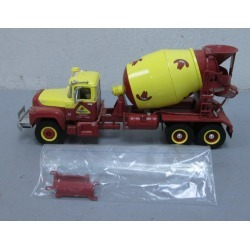 First Gear 19-2593 1:34 Bonanza Concrete Mack R Cement Mixer Truck