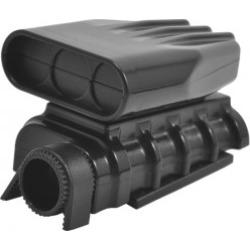 RPM 73412 Mock Intake and Blower Set  Black