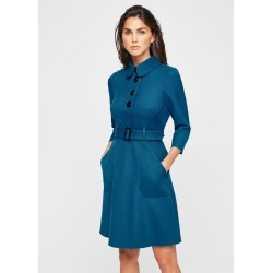 Damsel in a Dress Adie Button Detail Dress, Blue found on MODAPINS from Phase Eight for USD $162.60