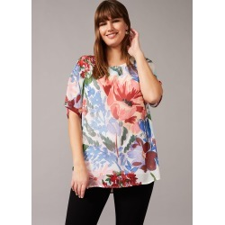 Studio 8 Fabia Floral Top, White, Tops found on MODAPINS from Phase Eight for USD $93.94