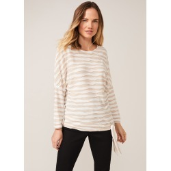 Phase Eight Shaughna Stripe Top, Neutral, Tops found on MODAPINS from Phase Eight for USD $58.39