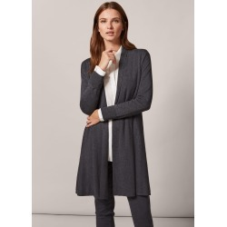 Phase Eight Lili Longline Cardigan, Grey, Cardigan found on MODAPINS from Phase Eight for USD $76.57