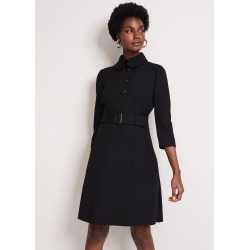 Damsel in a Dress Adie Button Detail Dress, Black found on MODAPINS from Phase Eight for USD $215.13