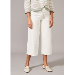Phase Eight Women's Nora Denim Culottes, White, Culottes found on Bargain Bro UK from Phase Eight
