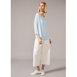 Phase Eight Caggie Cowl Neck Double Layer Top, Blue, Tops found on Bargain Bro UK from Phase Eight