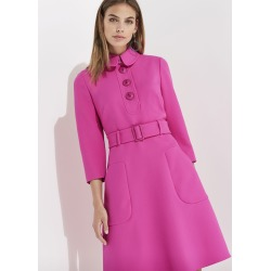 Damsel in a Dress Adie Button Detail Dress, Pink found on MODAPINS from Phase Eight for USD $137.24