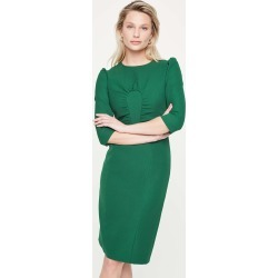 Damsel in a Dress Byanca Fitted Dress, Green