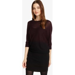 Phase Eight Becca Sheer Dip Dye Dress, Black, Knitted found on Bargain Bro UK from Phase Eight