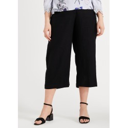 Studio 8 Women's Calia Cropped Trousers, Black, Culottes found on Bargain Bro UK from Phase Eight