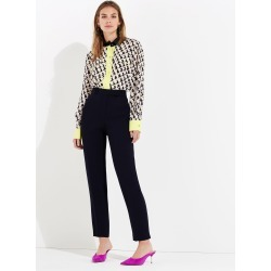 Damsel in a Dress Women's Isabella Tapered City Suit Trousers, Black found on Bargain Bro UK from Phase Eight