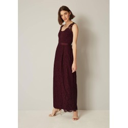 Phase Eight Amy Lace Maxi Bridesmaid Dress, Red, Maxi found on MODAPINS from Phase Eight for USD $104.36