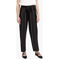 Phase Eight Women's Helen Stripe Trousers, Black, Tapered found on Bargain Bro UK from Phase Eight