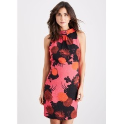 Damsel in a Dress Annora Floral Fitted Dress, Pink